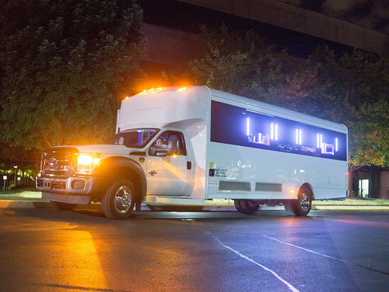 Making a Website For Your Party Bus Ride